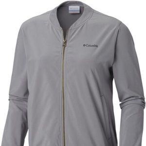 Columbia anytime casual full zip bomber jacket